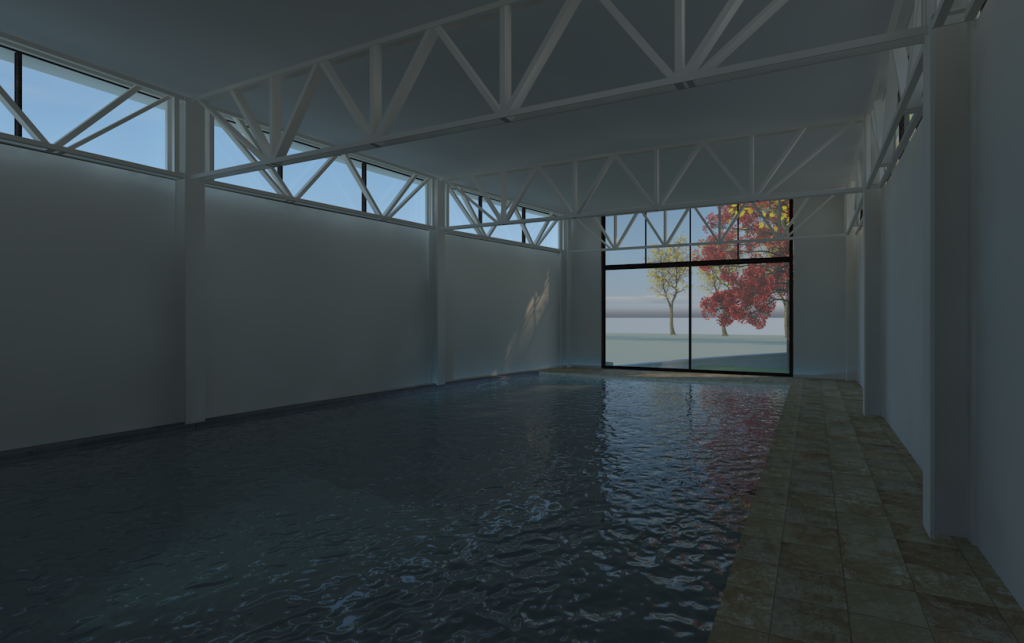 Gallery arqvision arquitectura bim sustentable for Piscina sustentable